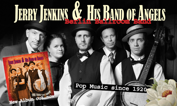 Jerry Jenkins & Band  I  Berlin Ballroom Band